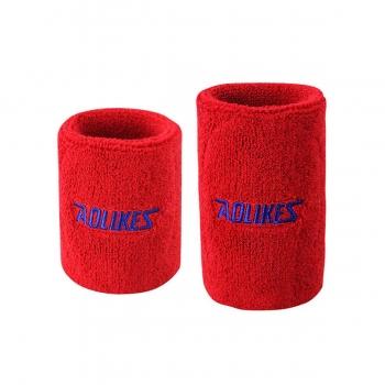 Cuốn cổ tay thấm mồ hôi AL0235(1 đôi) đỏ