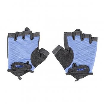 Găng tay cao cấp tập thể hình AL112(1 đôi) xanh dương