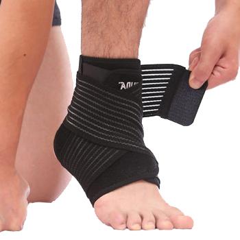 Băng cuốn bảo vệ mắt cá chân, cổ chân AL4546 đen